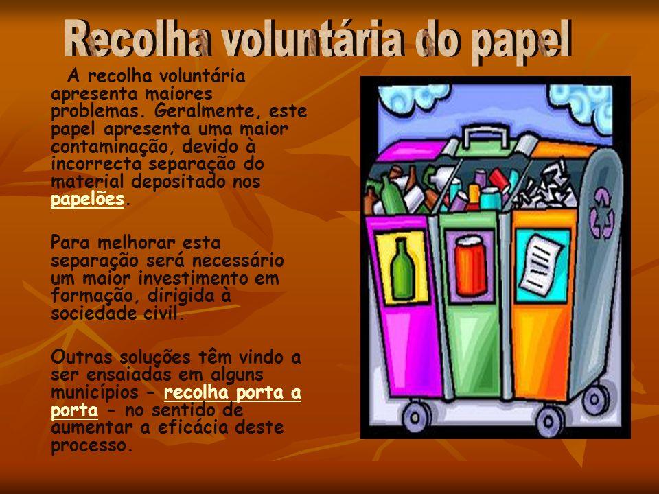Recolha voluntária do papel