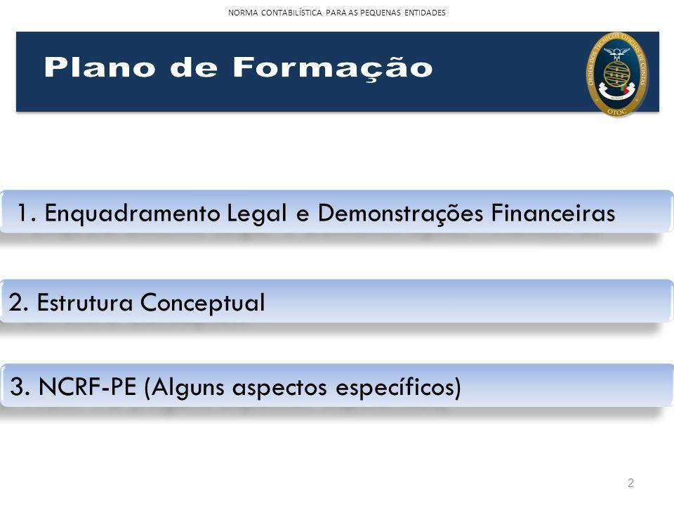 1. Enquadramento Legal e Demonstrações Financeiras