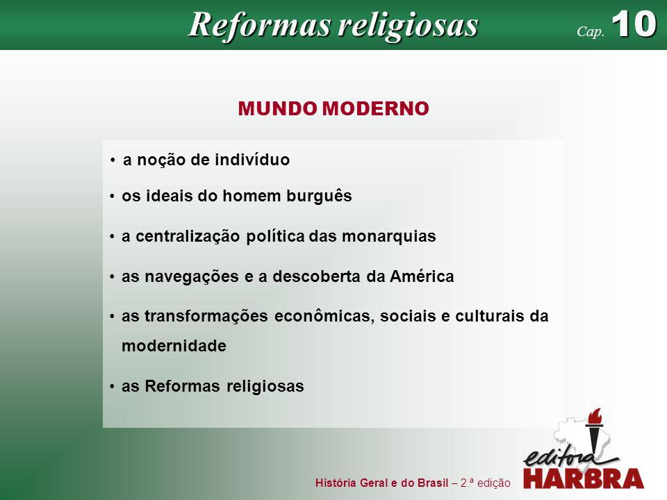 Reformas religiosas MUNDO MODERNO a noção de indivíduo