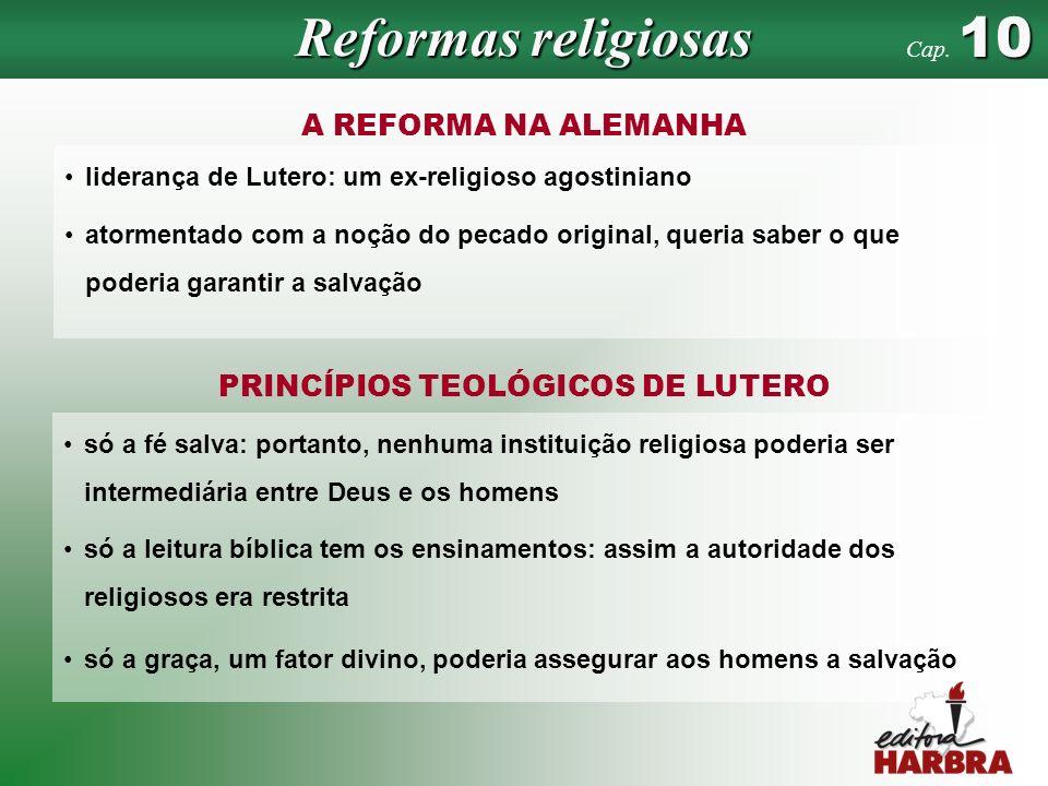 Reformas religiosas A REFORMA NA ALEMANHA