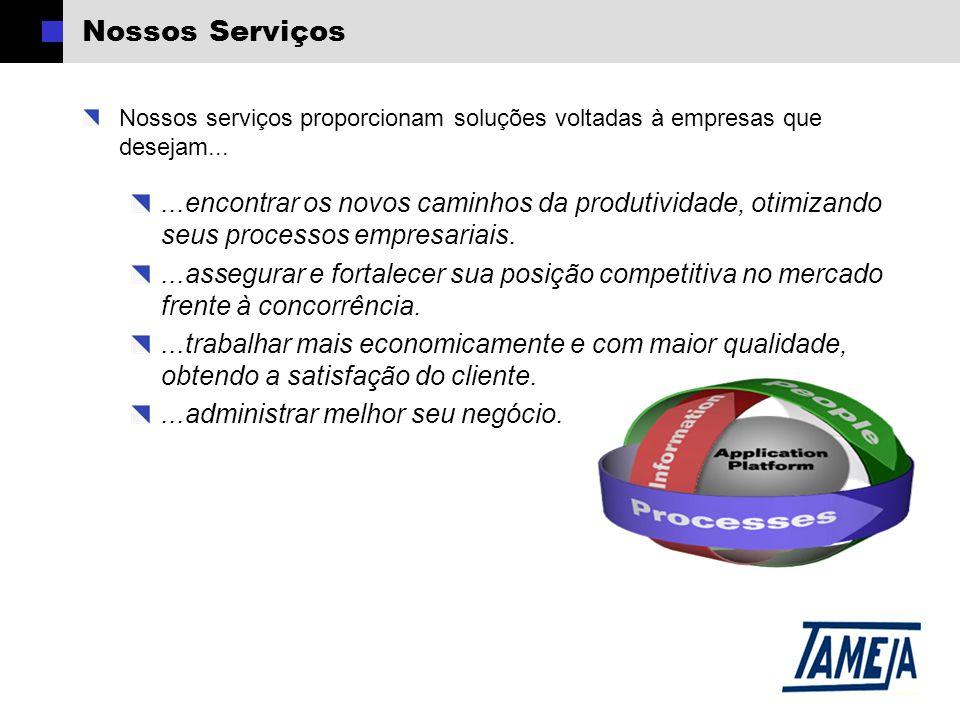 Nossos Serviços Nossos serviços proporcionam soluções voltadas à empresas que desejam...