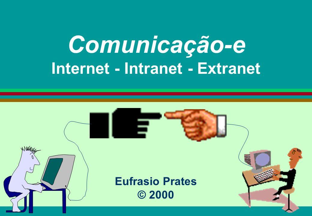 Comunicação-e Internet - Intranet - Extranet