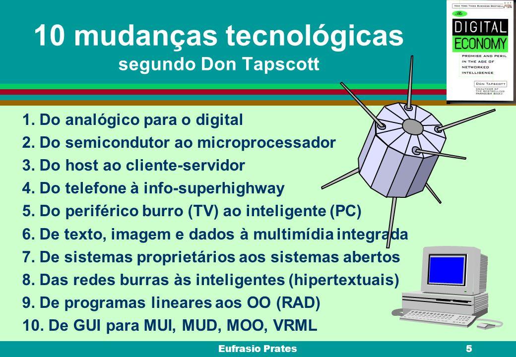 10 mudanças tecnológicas segundo Don Tapscott