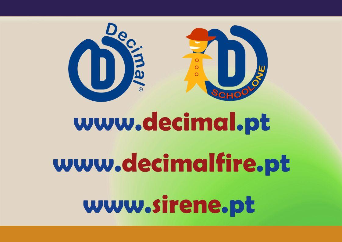 www.decimal.pt www.decimalfire.pt www.sirene.pt