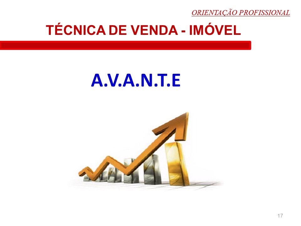 TÉCNICA DE VENDA - IMÓVEL