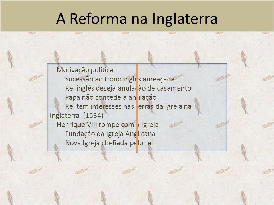 A Reforma na Inglaterra