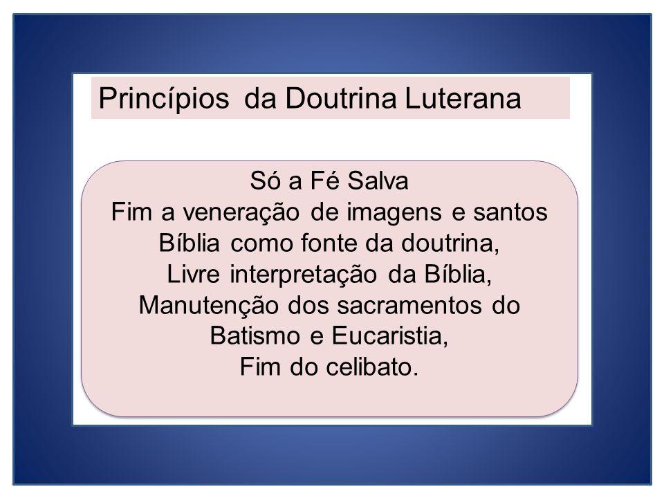 Princípios da Doutrina Luterana