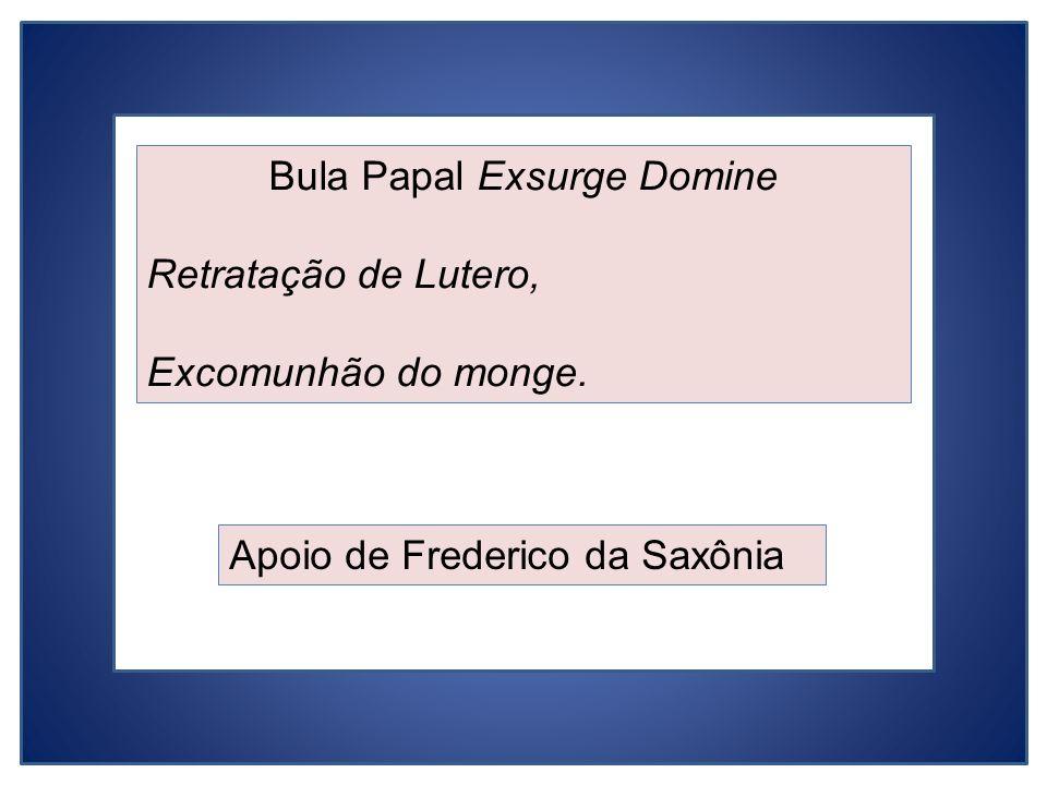 Bula Papal Exsurge Domine