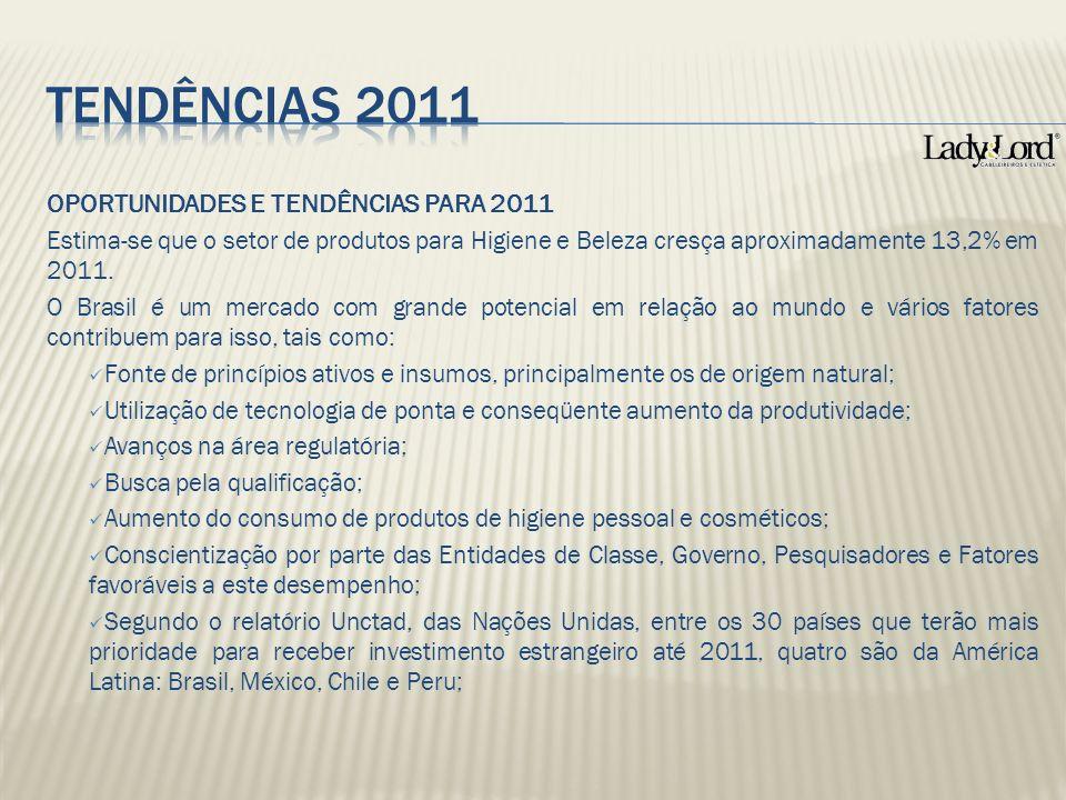 TENDÊNCIAS 2011 OPORTUNIDADES E TENDÊNCIAS PARA 2011