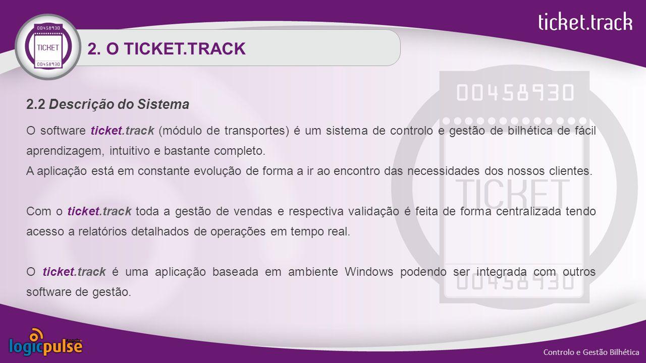 2. O TICKET.TRACK 2.2 Descrição do Sistema