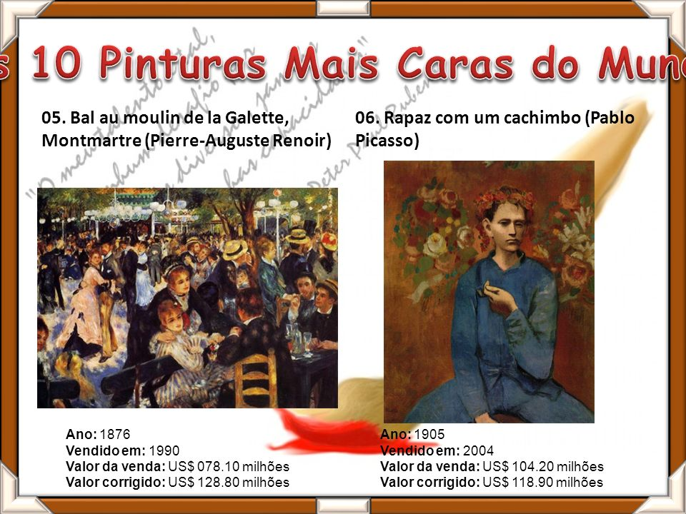 As 10 Pinturas Mais Caras do Mundo