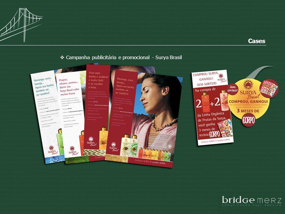 Cases Campanha publicitária e promocional - Surya Brasil