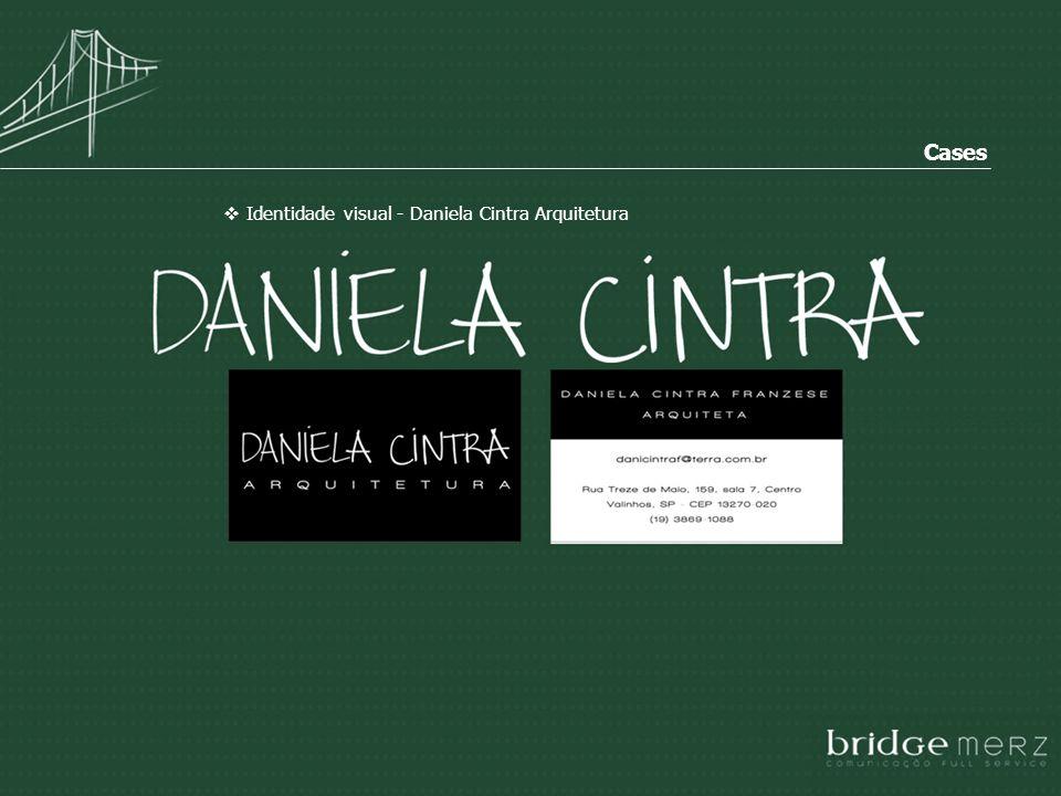 Cases Identidade visual - Daniela Cintra Arquitetura
