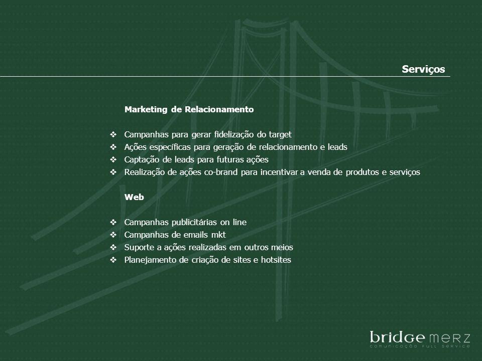 Serviços Marketing de Relacionamento