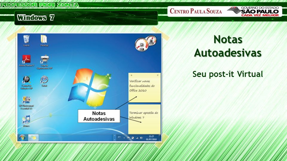 Notas Autoadesivas Seu post-it Virtual