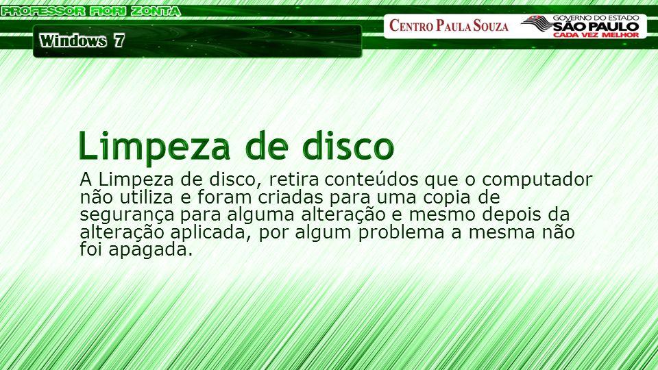 Limpeza de disco