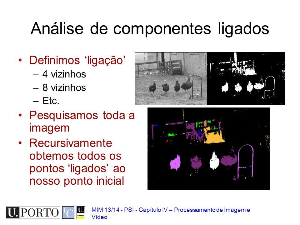 Análise de componentes ligados