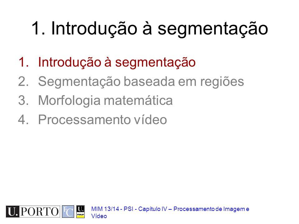 1. Introdução à segmentação