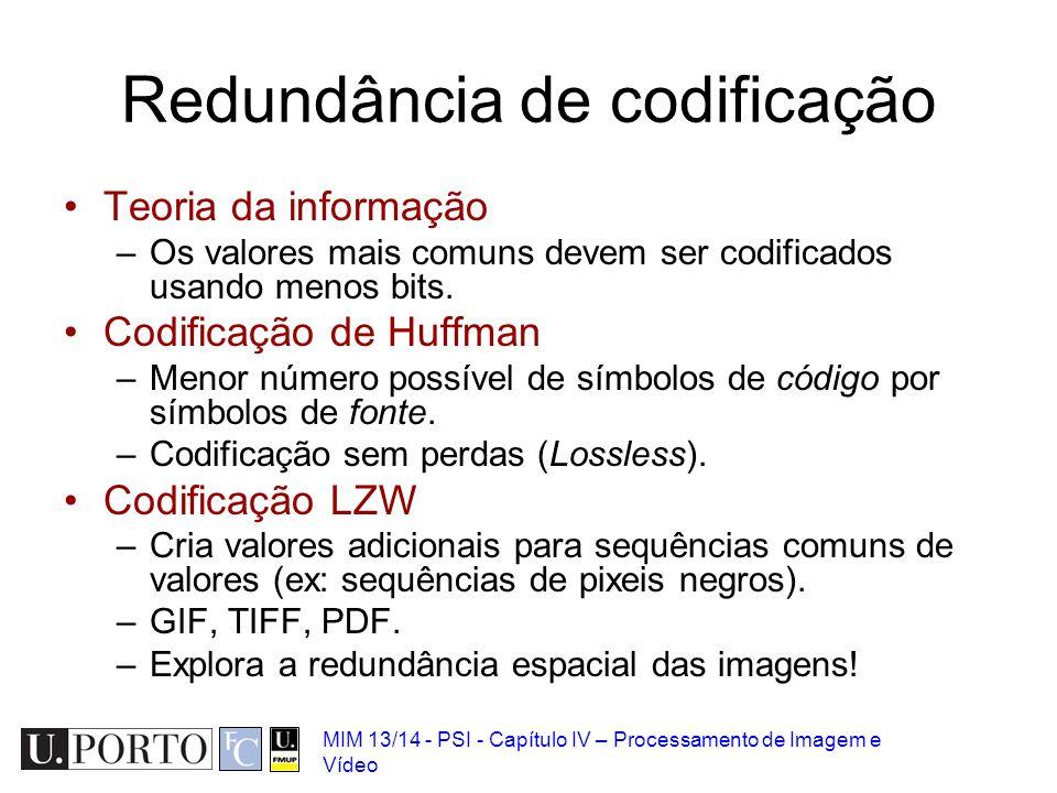 Redundância de codificação