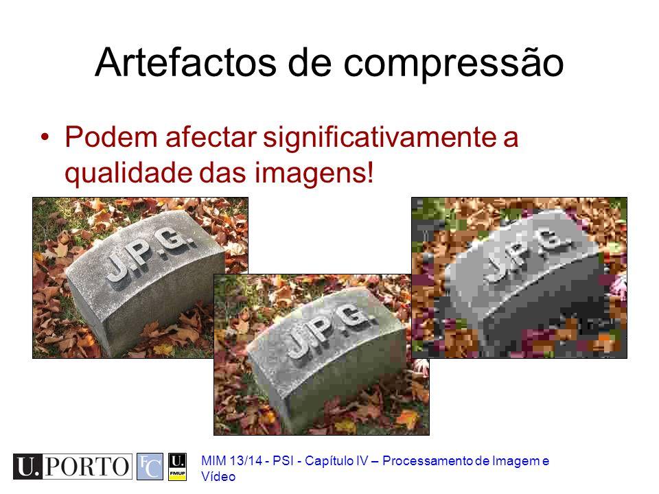 Artefactos de compressão