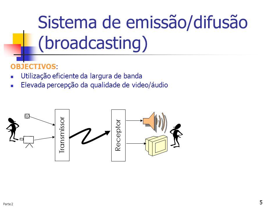 Sistema de emissão/difusão (broadcasting)