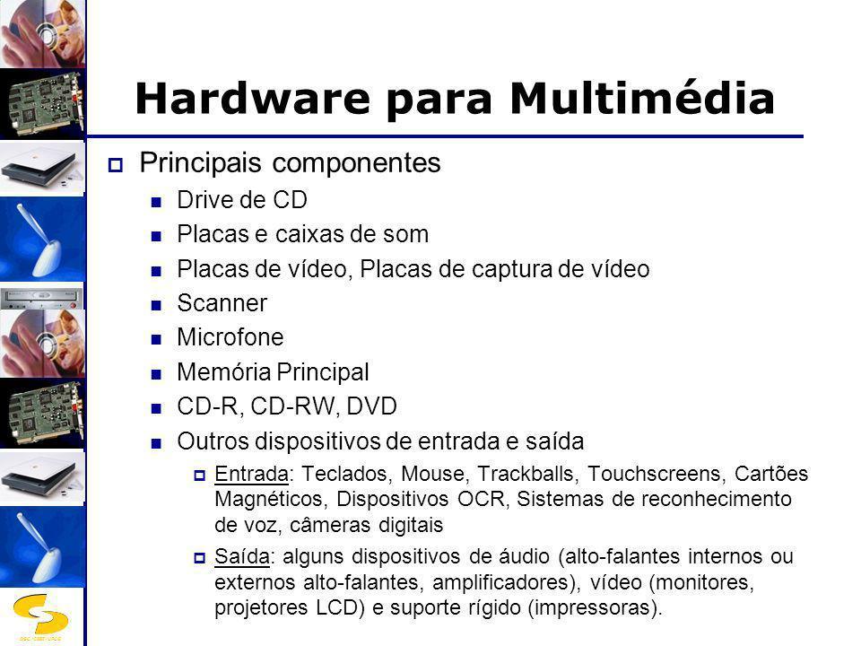 Hardware para Multimédia
