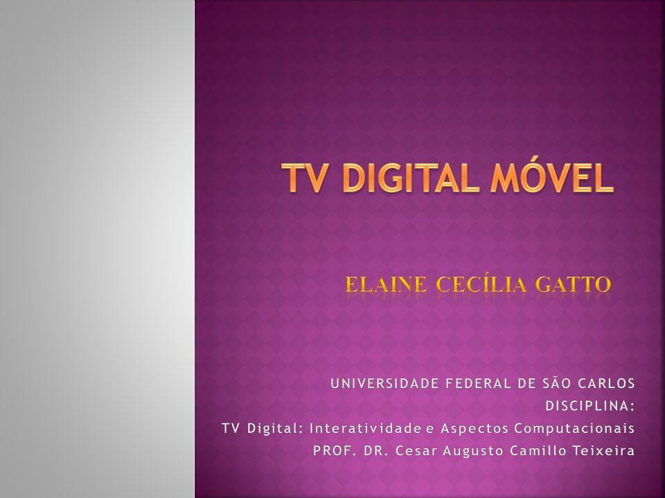 TV DIGITAL MÓVEL ELAINE CECÍLIA GATTO