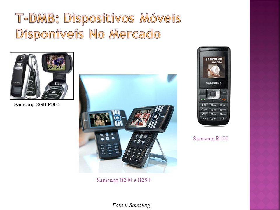 T-Dmb: Dispositivos Móveis Disponíveis No Mercado