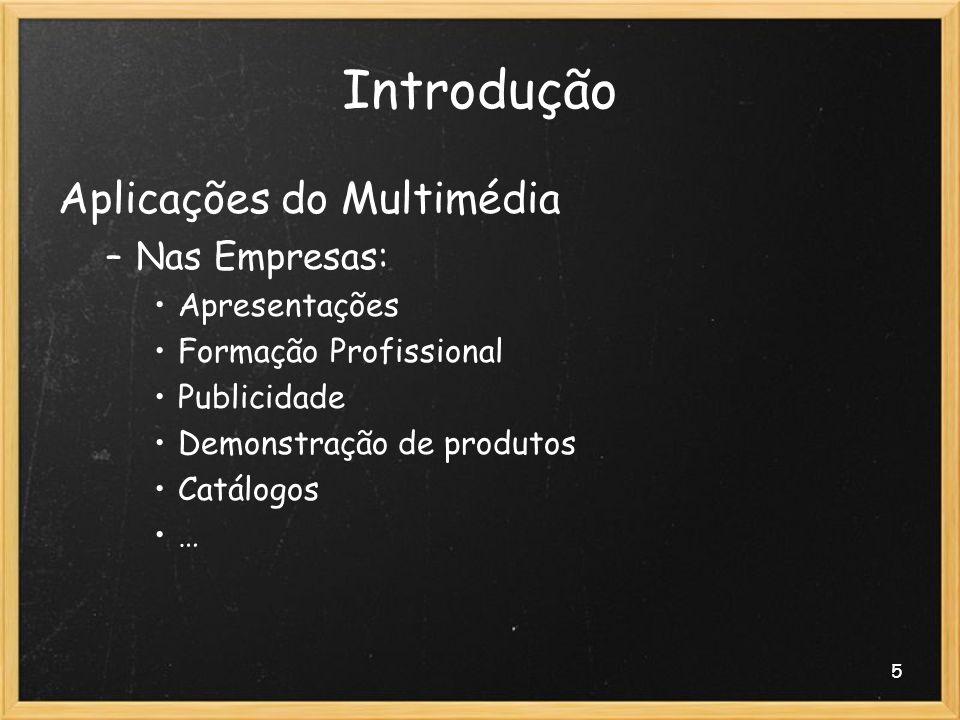 Introdução Aplicações do Multimédia Nas Empresas: Apresentações