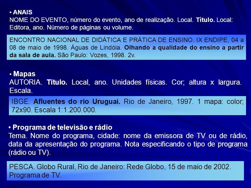 Programa de televisão e rádio
