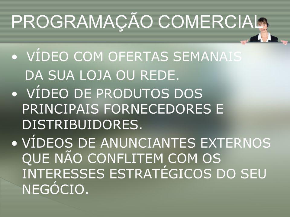 PROGRAMAÇÃO COMERCIAL