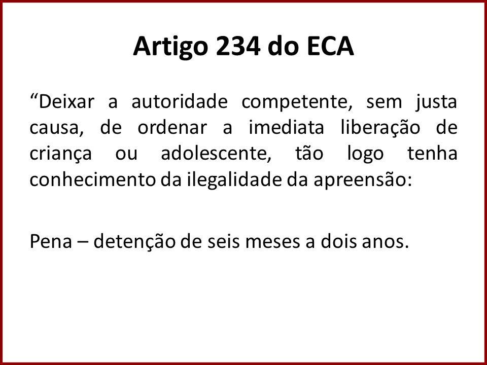 Artigo 234 do ECA