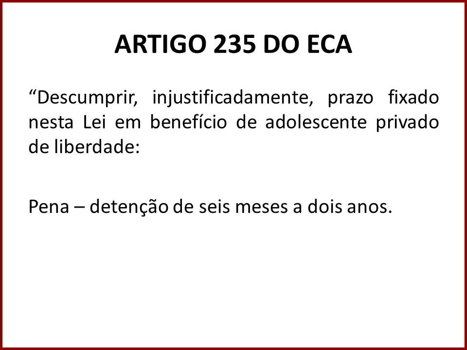 ARTIGO 235 DO ECA