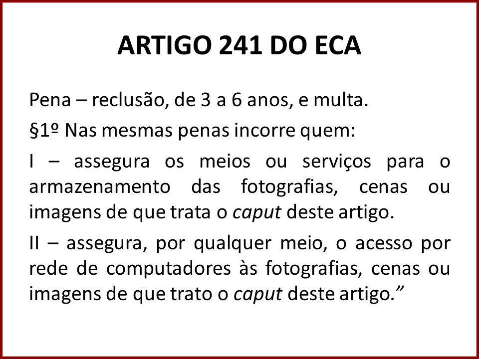 ARTIGO 241 DO ECA