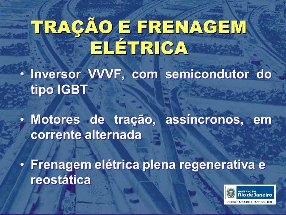 TRAÇÃO E FRENAGEM ELÉTRICA