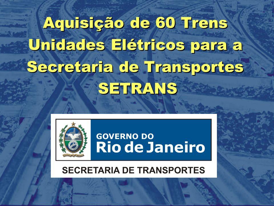 Unidades Elétricos para a Secretaria de Transportes SETRANS