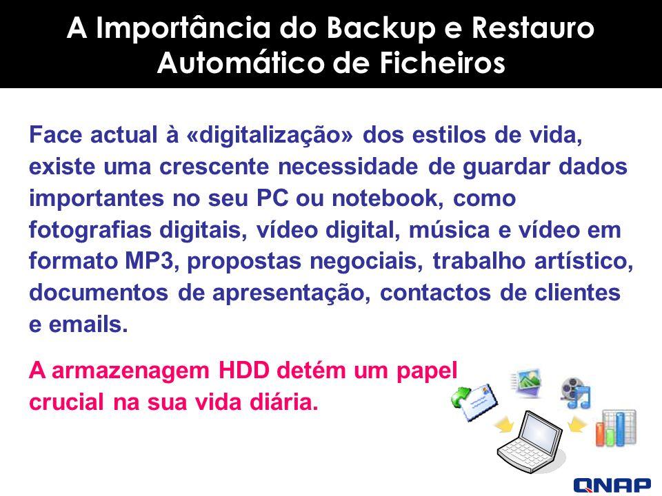 A Importância do Backup e Restauro Automático de Ficheiros