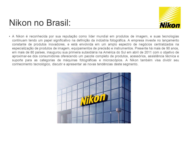 Nikon no Brasil: