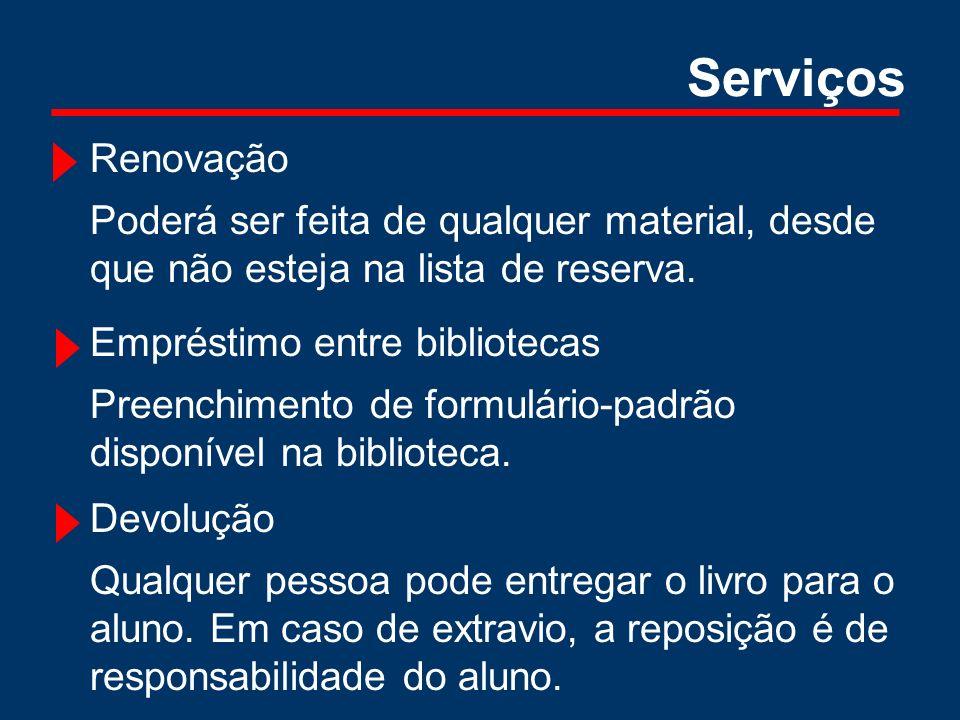 Serviços Assistência e treinamento de usuários.