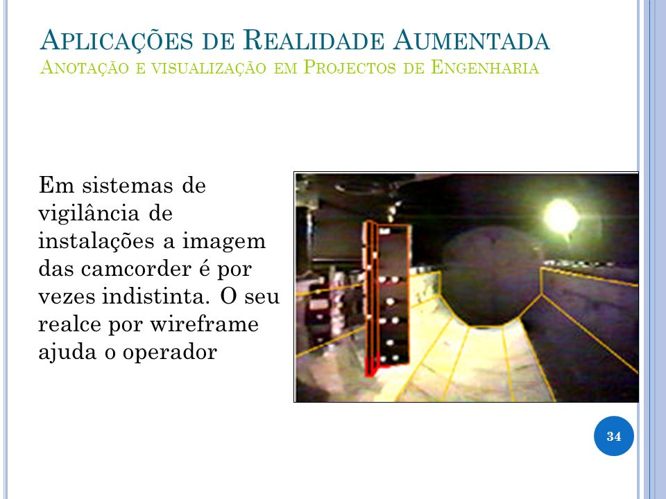 Aplicações de Realidade Aumentada Anotação e visualização em Projectos de Engenharia