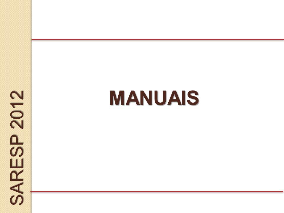 SARESP 2012 MANUAIS