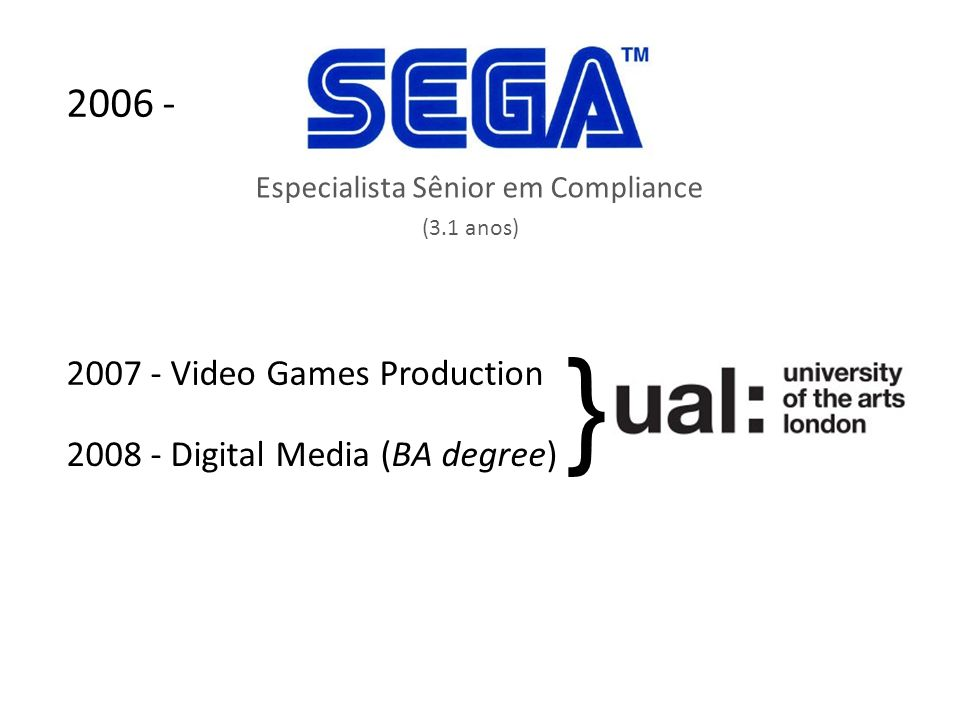 } 2006 - 2007 - Video Games Production