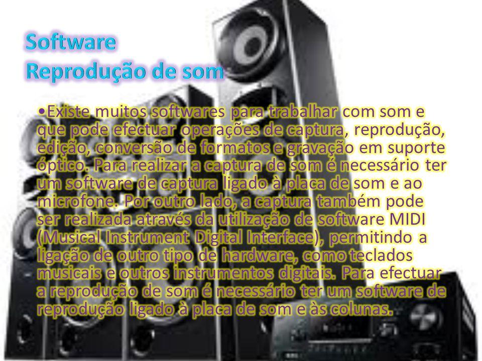 Software Reprodução de som