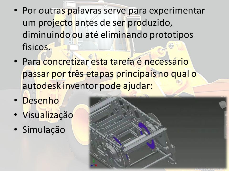 Por outras palavras serve para experimentar um projecto antes de ser produzido, diminuindo ou até eliminando prototipos fisicos.