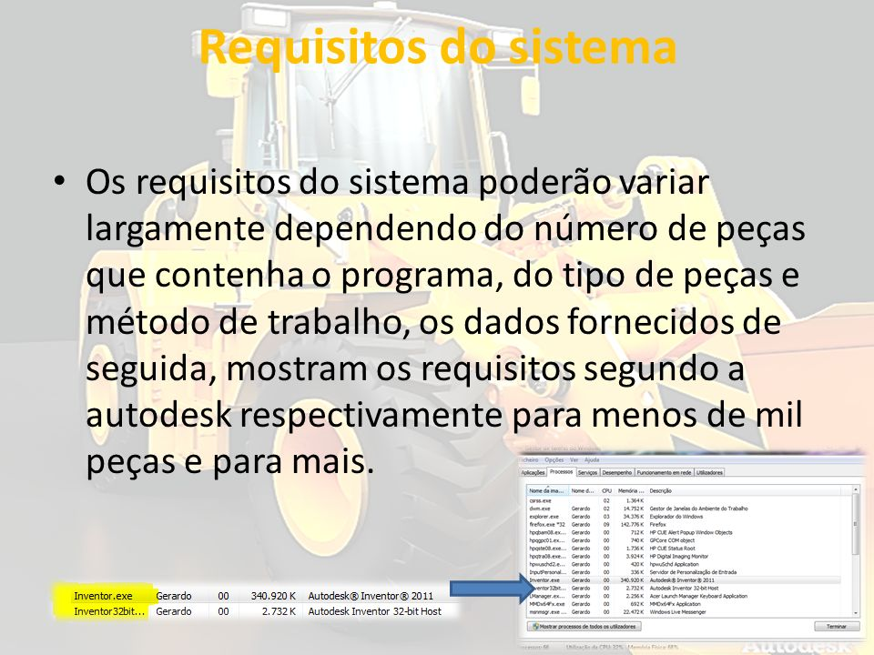 Requisitos do sistema