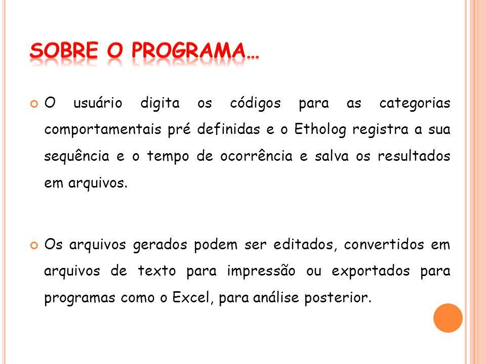 Sobre o Programa…