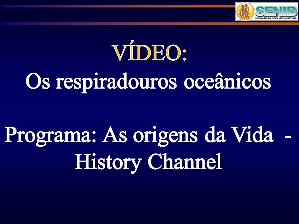 Os respiradouros oceânicos