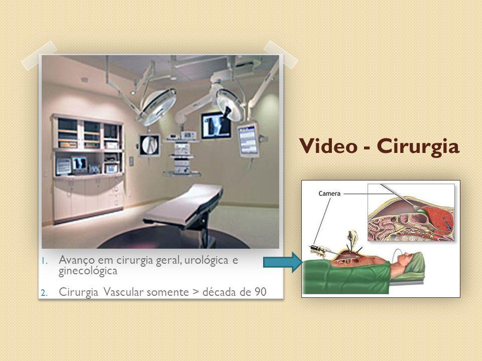 Video - Cirurgia Avanço em cirurgia geral, urológica e ginecológica