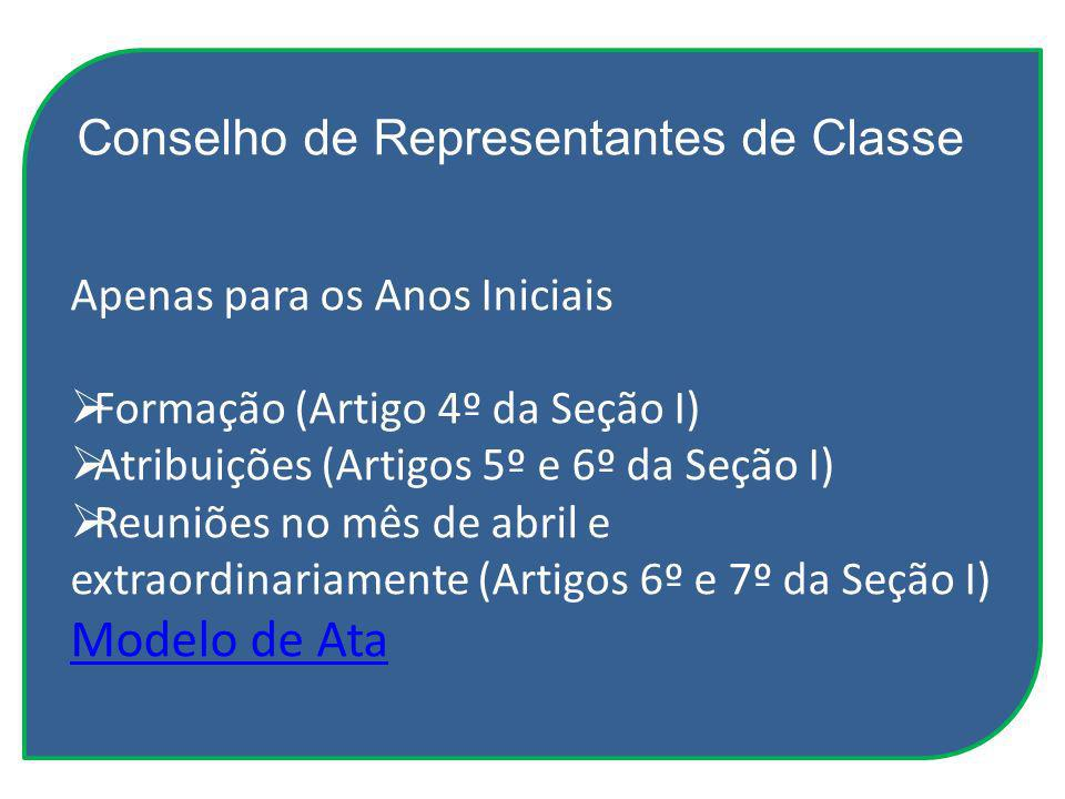 Conselho de Representantes de Classe