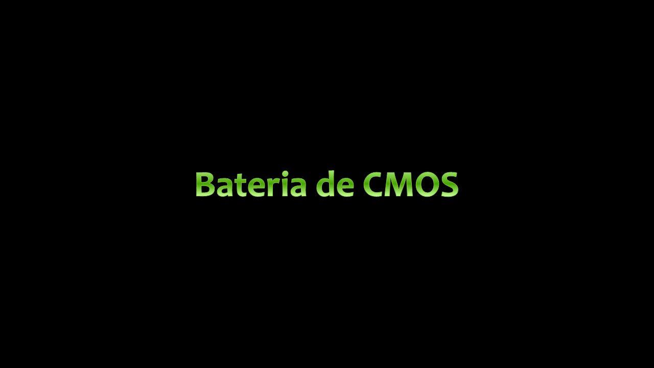 Bateria de CMOS